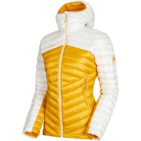 Mammut Broad Peak IN Hooded Jacket Damen golden-bright white